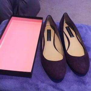 Steve Madden Purple Suede Dress Shoe NWT